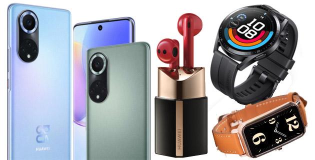 Huawei Nova 9, Watch GT 3, Watch Fit Mini e FreeBuds4 Lipstick in Italia ufficiali